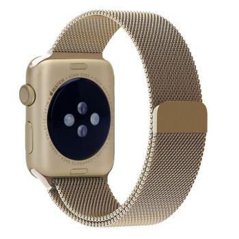 Ремешок Миланский Mokka Milanese Loop Gold для Apple Watch 42/44 мм