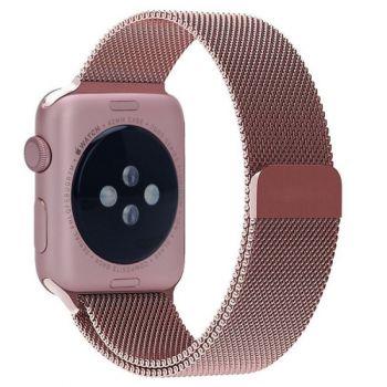 Ремешок Миланский Mokka Milanese Loop Rose Gold для Apple Watch 42/44 мм
