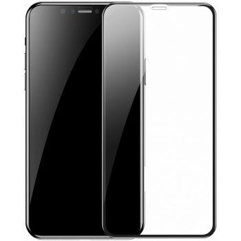 Защитное стекло Baseus Full-glass Tempered 0.3mm для iPhone 11 (черный)