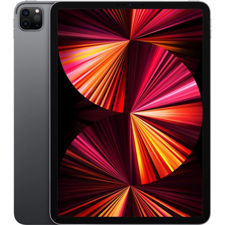 "Apple iPad Pro (2021) 11"" Wi-Fi + Cellular 128 ГБ, «серый космос»"