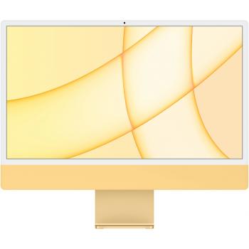 """Apple iMac 24"""" Z12T000AH Retina 4,5K, (M1 8C CPU, 8C GPU), 8 ГБ, 512 ГБ SSD, «жёлтый»"""