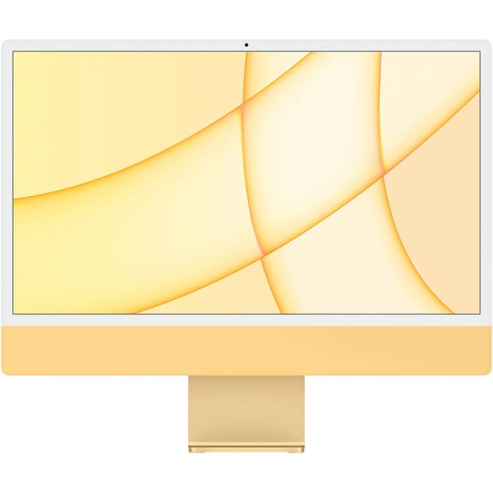"""Apple iMac 24"""" Z12S000BK Retina 4,5K, (M1 8C CPU, 8C GPU), 8 ГБ, 256 ГБ SSD, «жёлтый»"""