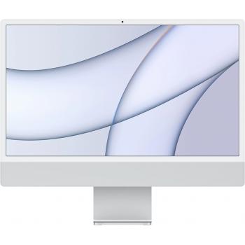 "Apple iMac 24"" MGTF3 Retina 4,5K, (M1 8C CPU, 7C GPU), 8 ГБ, 256 ГБ SSD, «серебристый»"