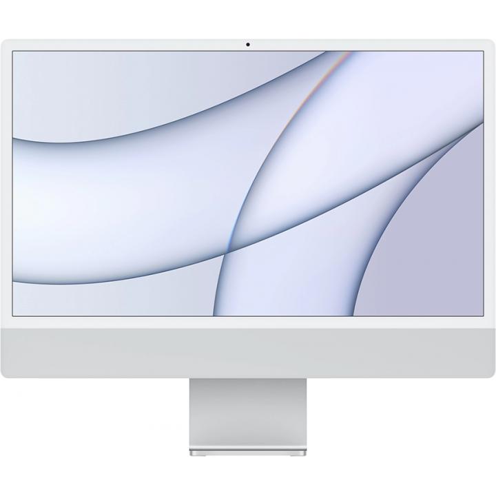 "Apple iMac 24"" MGPC3 Retina 4,5K, (M1 8C CPU, 8C GPU), 8 ГБ, 256 ГБ SSD, «серебристый»"