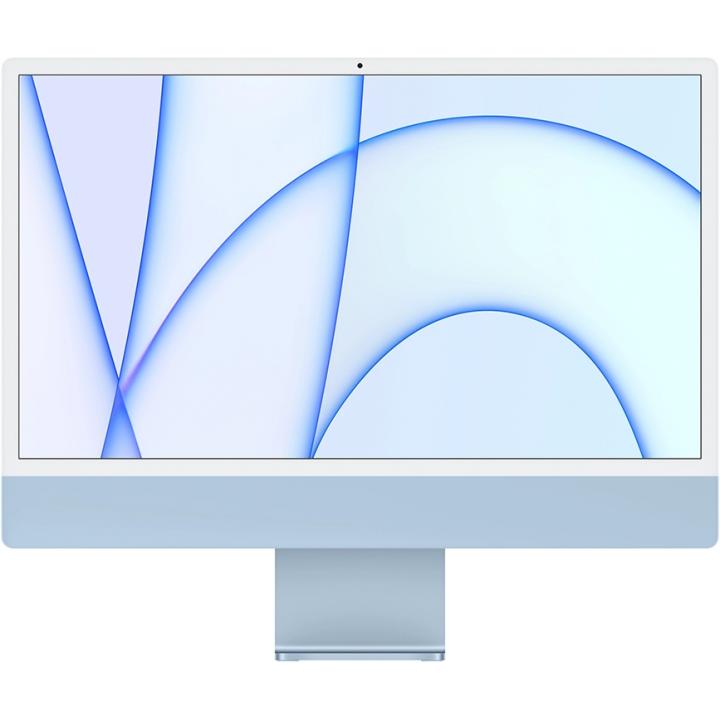 "Apple iMac 24"" MJV93 Retina 4,5K, (M1 8C CPU, 7C GPU), 8 ГБ, 256 ГБ SSD, «синий»"