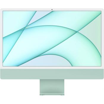 """Apple iMac 24"""" MJV83 Retina 4,5K, (M1 8C CPU, 7C GPU), 8 ГБ, 256 ГБ SSD, «зелёный»"""