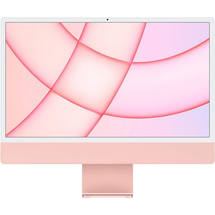 "Apple iMac 24"" MGPN3 (2021), Retina 4,5K, (M1 8C CPU, 8C GPU), 8 ГБ, 512 ГБ SSD, «розовый»"