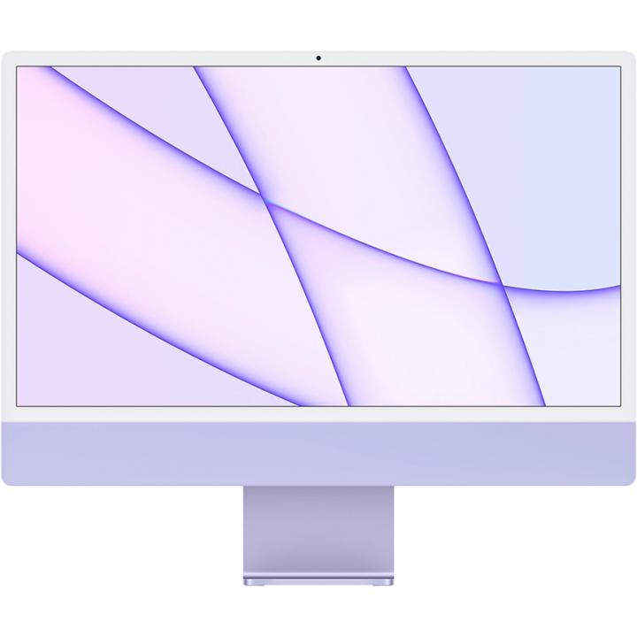 "Apple iMac 24"" Z131000AH Retina 4,5K, (M1 8C CPU, 8C GPU), 8 ГБ, 512 ГБ SSD, «фиолетовый»"
