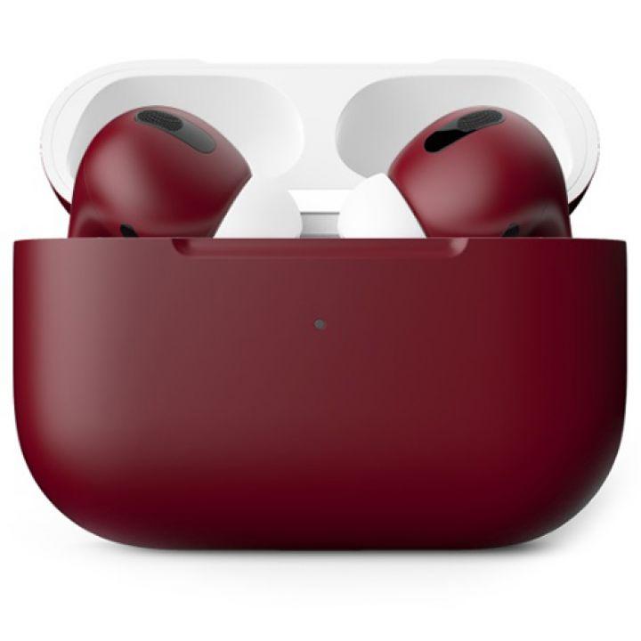 Наушники Apple AirPods Pro Custom Edition, бордовый матовый