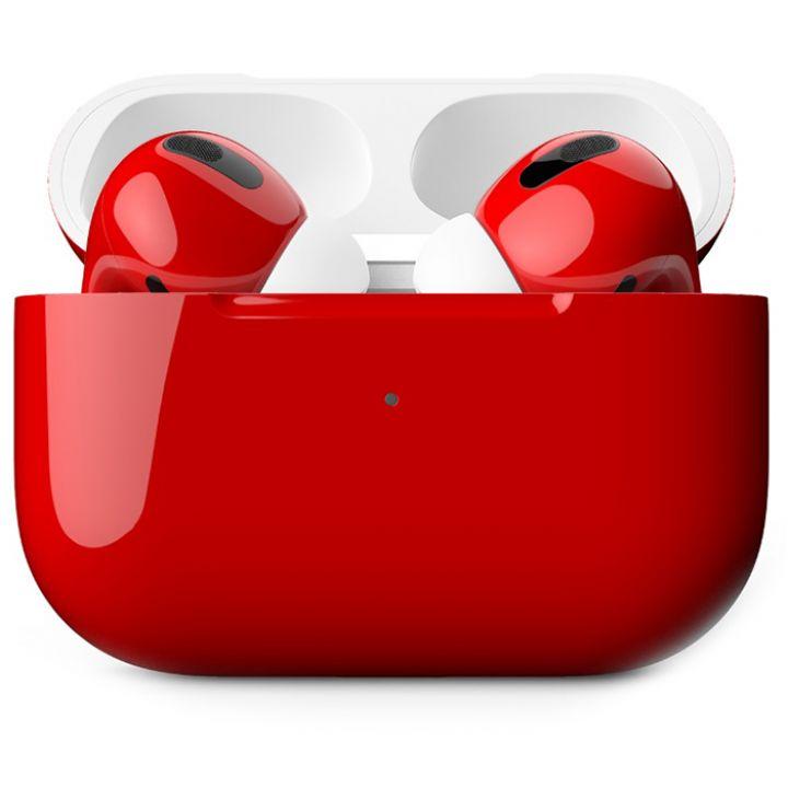 Наушники Apple AirPods Pro Custom Edition, красный глянцевый