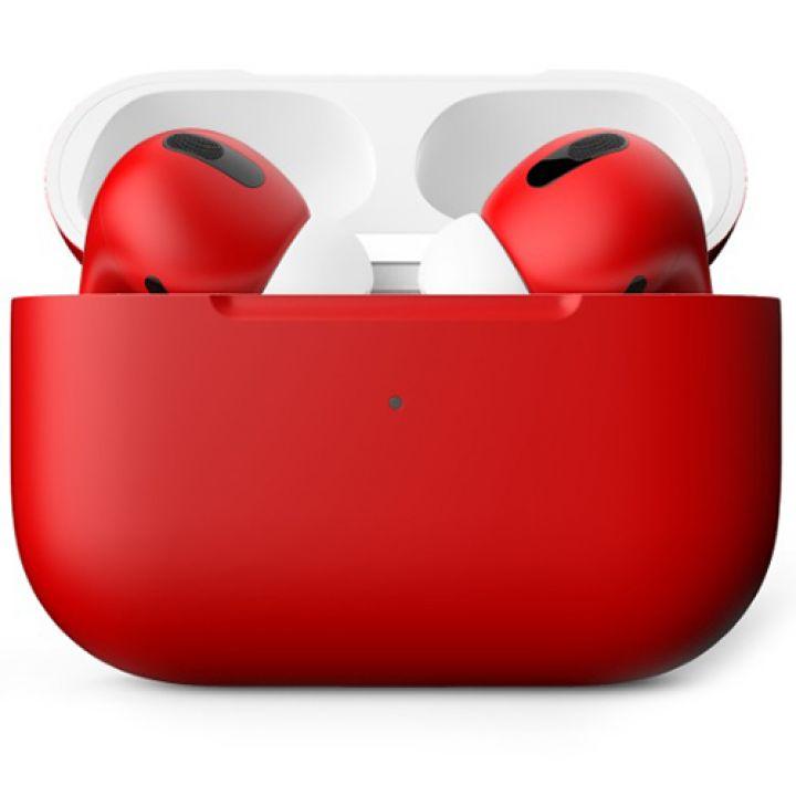 Наушники Apple AirPods Pro Custom Edition красный матовый
