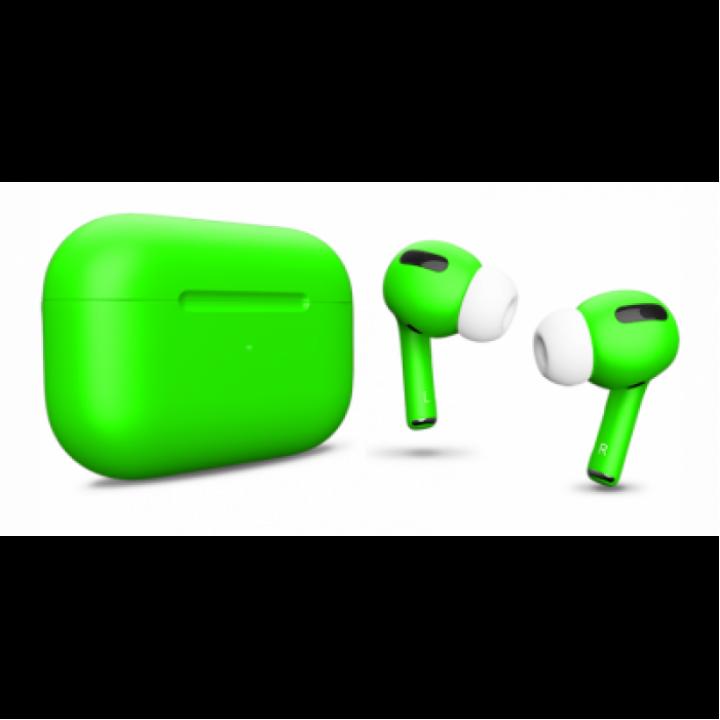 Наушники Apple AirPods Pro Custom Edition, ярко-зелёный матовый