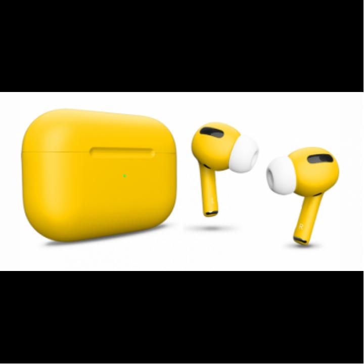 Наушники Apple AirPods Pro Custom Edition, жёлтый матовый