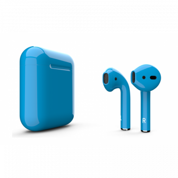 Наушники Apple AirPods 2, синие