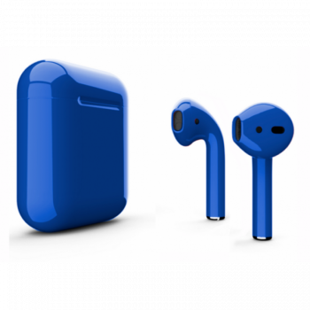 Наушники Apple AirPods 2, синий глянец