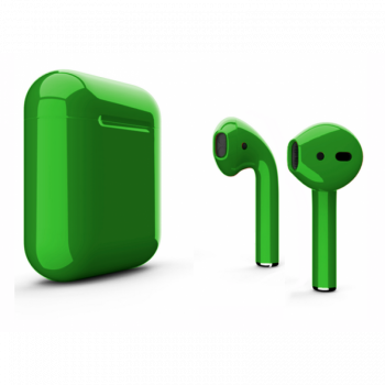 Наушники Apple AirPods 2, зеленые
