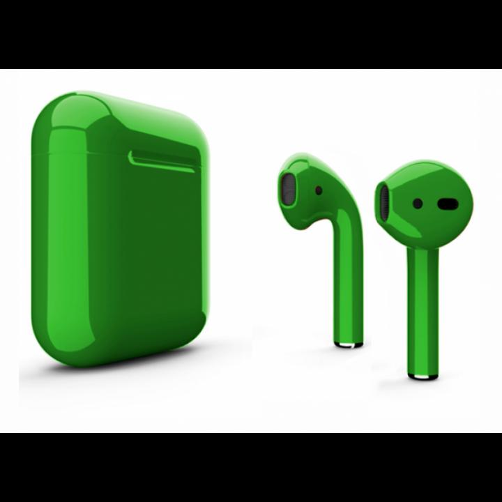 Наушники Apple AirPods зелёный глянец