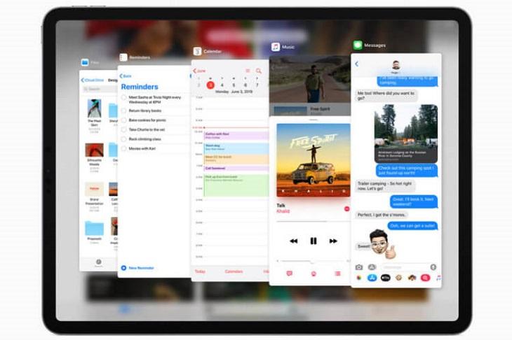 iPad 2021 многозадачность