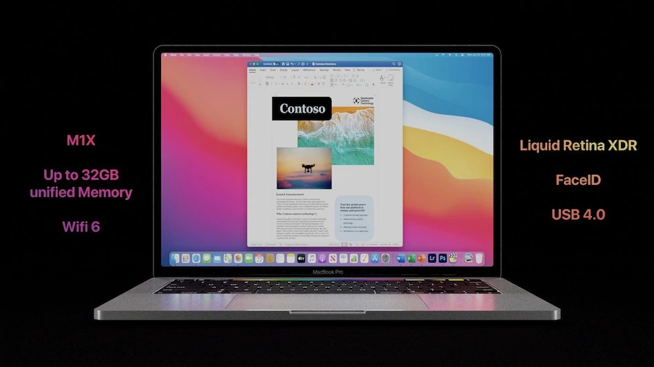 Презентация MacBook Pro 16 и MacBook Pro 14 2021