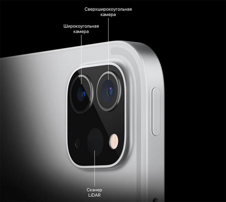 iPad Pro 2021 камера