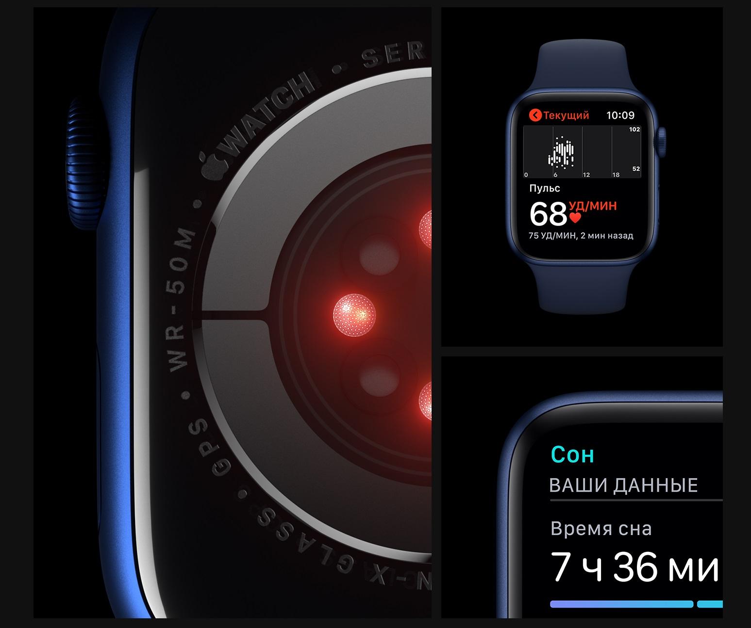 Apple Watch 6 Здоровье