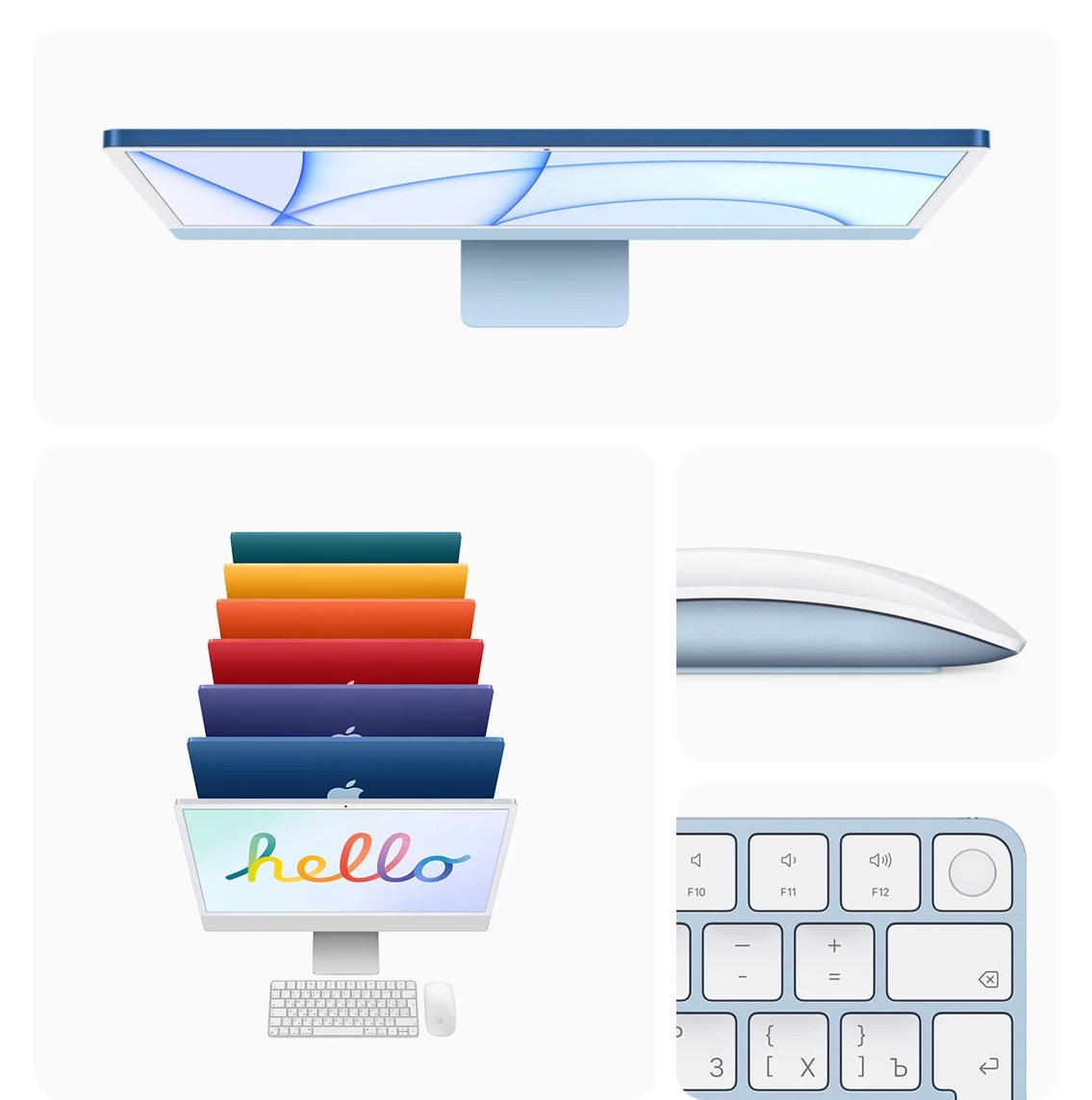 iMac 24 дизайн