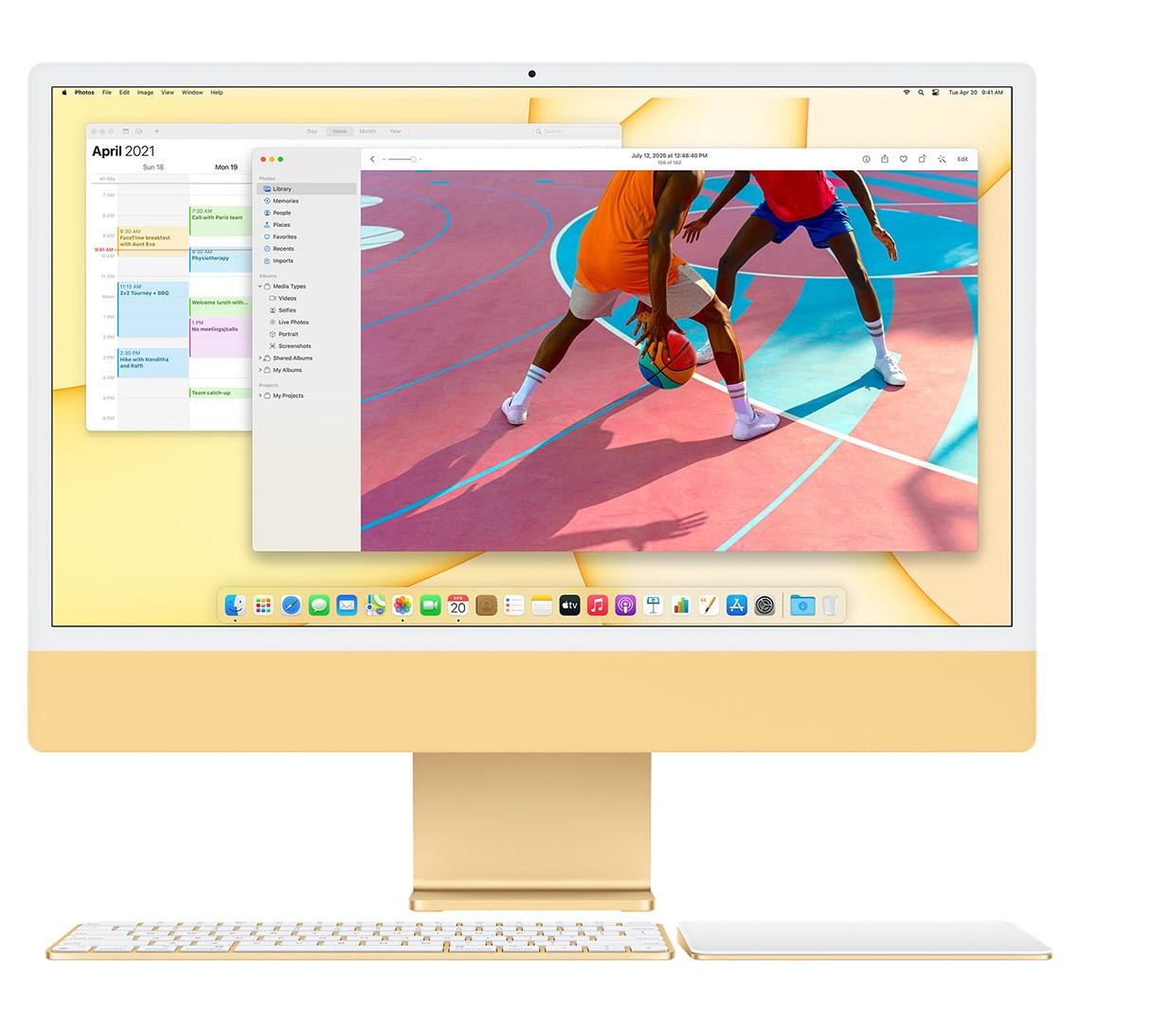 iMac 24 - Дисплей